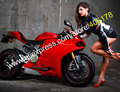 Hot Sales,Sexy Fairing For Ducati 1199 1199S 899 Panigale 2012 2013 2014 1199/1199S Red Motorbike Fairings (Injection molding)