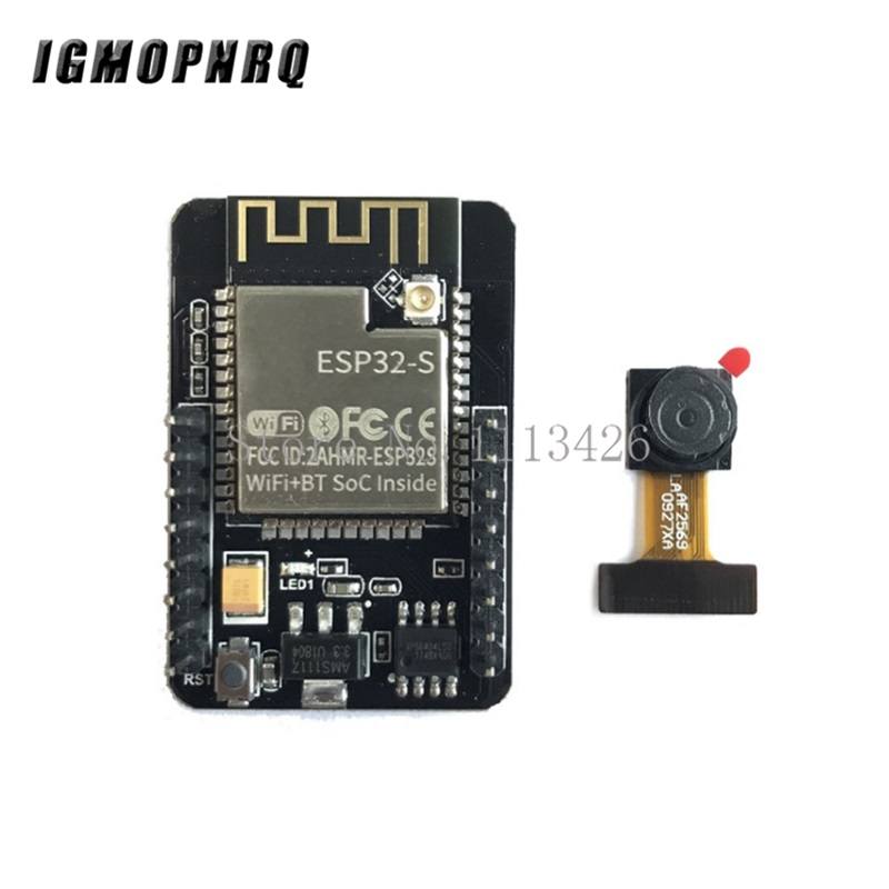 ESP32-CAM WiFi WiFi Module ESP32 serial to WiFi ESP32 CAM Development Board 5V Bluetooth with OV2640 Camera Module ESP32-CAM WiFi WiFi Module ESP32 serial to WiFi ESP32 CAM Development Board 5V Bluetooth with OV2640 Camera Module