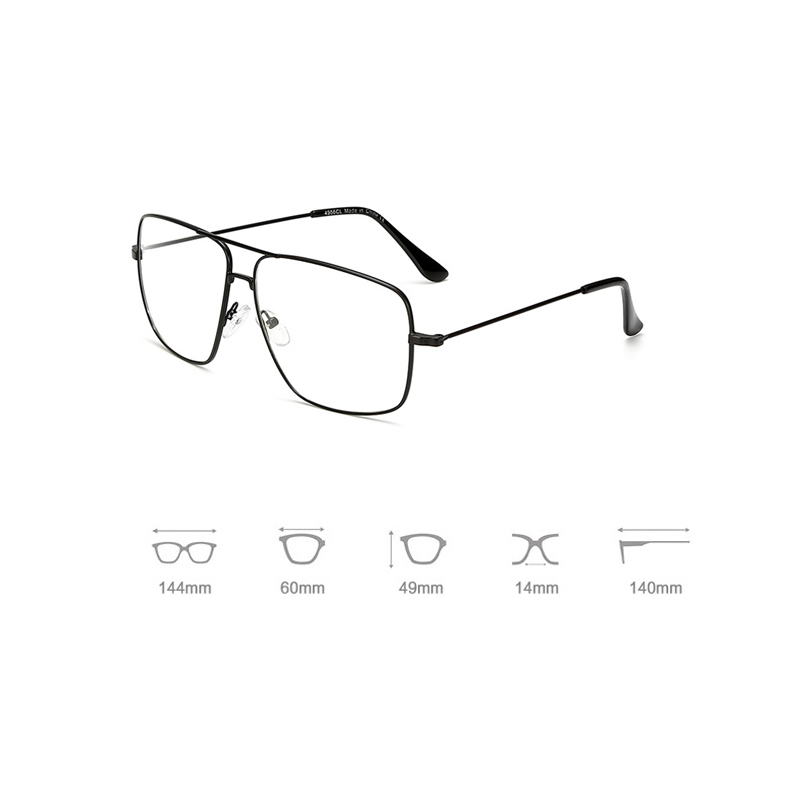 iboode Vintage Gold Metal Frame Eyeglasses Mens Womens Sun Glasses Retro Square Optical Lens Eyewear Nerd Clear Lens Glasses 1PC in Women 39 s Sunglasses from Apparel Accessories