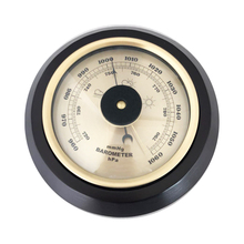 7.2 inch 180mm Wooden Base Wall Mounted Household Barometer Thermometer Hygrometer Weather Station Hanging