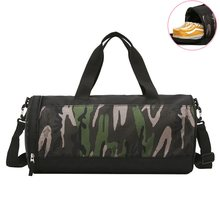 db4d8114a31d Professional Multifunction Camouflage Sports Gym Bags Fitness Training Yoga  Bags with Shoes Storage Packet Net bag