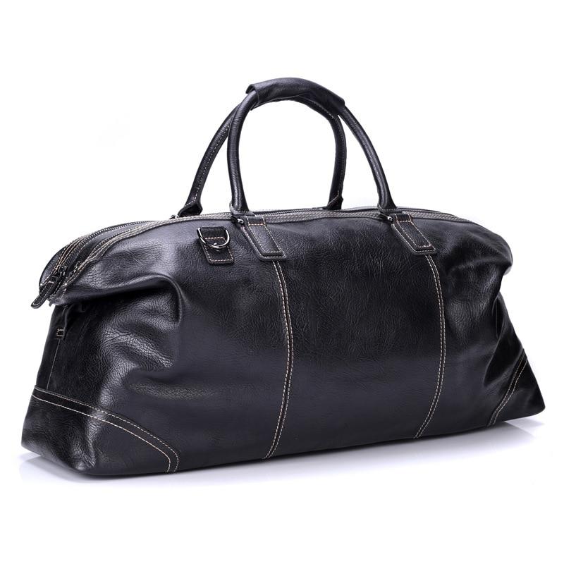 Uniego High Quality Genuine Leather Men Shoulder Bags Travel Handbag Large-Capacity Business Male Messenger Crossbody Bags HB221