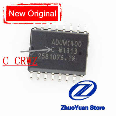 1PCS/lot ADUM1400 ADUM1400CRWZ ADUM1400 CRWZ ADUM1400C ADUM1400CRW IC Chip SMD SOP-16