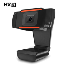 HXSJ Original  A870B USB 2.0 Webcam 0.3 Megapixel PC Camera HD Web Cam with Built-in Microphone for Laptop Computer