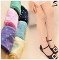 summer style Children tights for dancing Four Leaf Clover high quality pantyhose and child candy color medias para bebes
