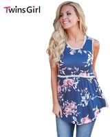 2017 Summer New Sexy Women Fashion High Street Plus Size Tank Floral Pompom Lace Trim Flowy