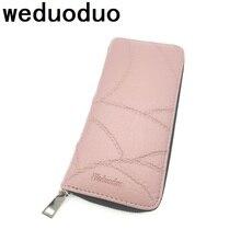 New fashion women wallet clutch purses female zipper long genuine leather card holder high quality  coin pocket bolsas money bag все цены