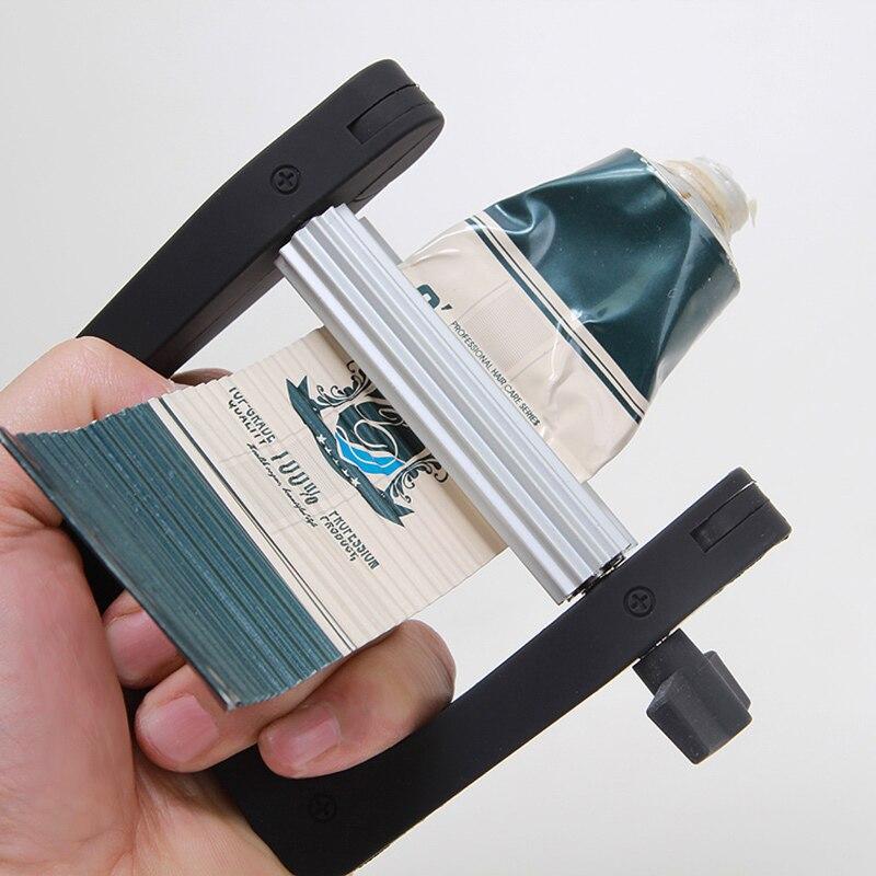 Multifunción portátil De Plástico Dispensador de Pasta de dientes Exprimidor de