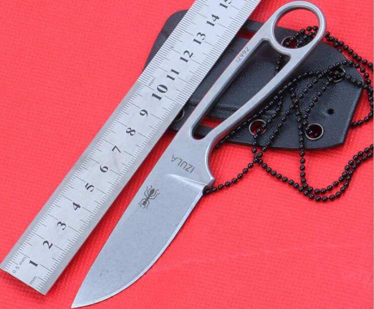 Newest Hot Selling Blade 60HRC Fixed font b Knife b font Outdoor Camping Survival Tool Straight