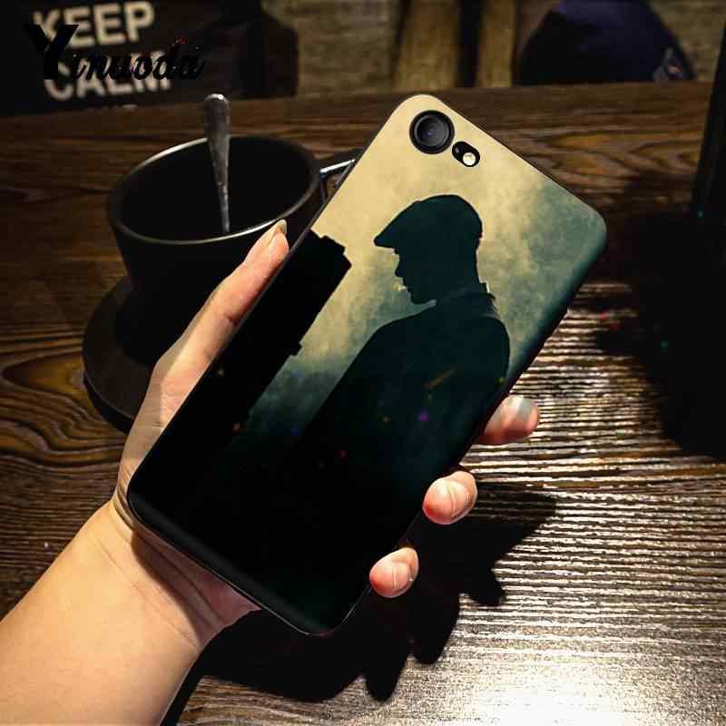 حافظة هاتف Yinuoda لهواتف iphone 11pro سلسلة تلفاز Peaky أغطية هاتف رائعة لهاتف iPhone 7X6 6S 8Plus 5 5s XS XR 11pro MAX