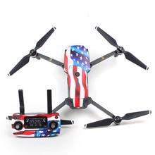 SunnyLife 3 м Наклейки Водонепроницаемый кожи wrapper наклейки для dji Мавик Pro Drone тела/пульт дистанционного управления/Extra Батареи