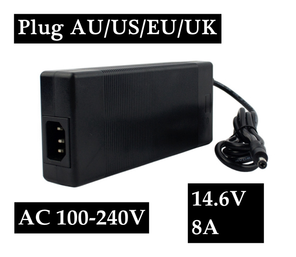 14 6V 8A LifePO4 Battery Charger For Life PO4 Battery Pack in Chargers from Consumer Electronics