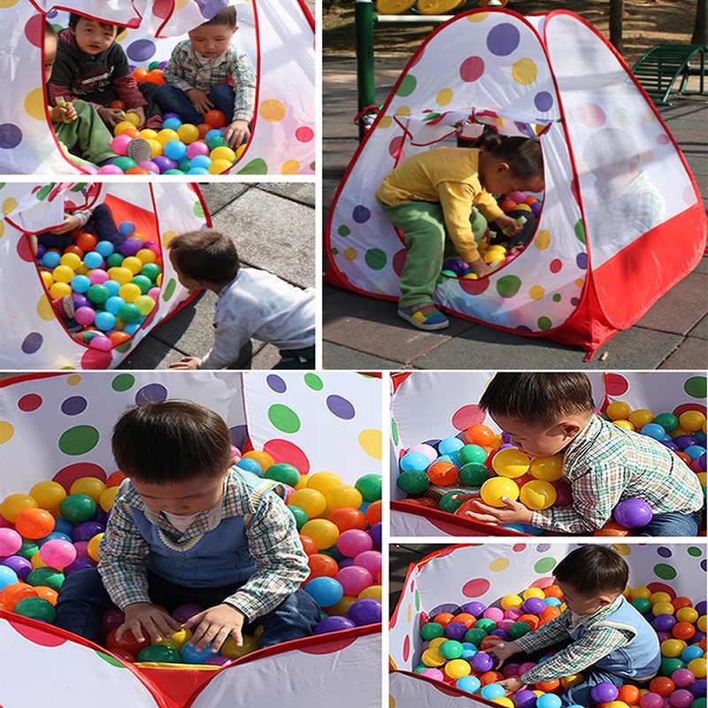 1 pc Nadar Divertido Colorido Plástico Macio Bola Oceano Brinquedo Seguro Baby Kid Pit