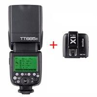 Godox TT685F/w X1T F ttl HSS Вспышка Speedlite для Fujifilm X T2 X T20 X T10 X A2 включают Godox X1T F + Godox TT685F