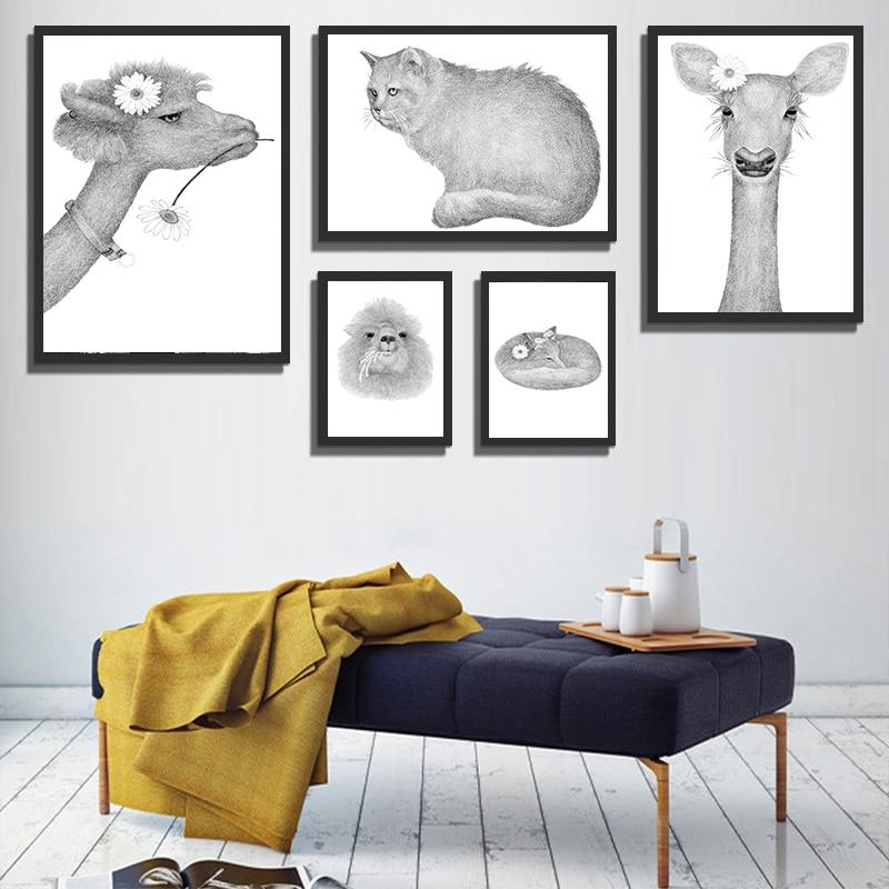 4000 Koleksi Gambar Sketsa Hewan Dan Bunga Gratis Terbaik