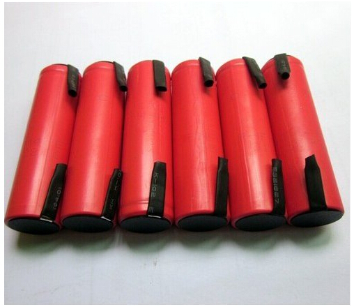 6pcs/lot New Original MasterFire 18650 3.7V 2600mAh Li-ion Battery Rechargeable Batteries With tabs For Sanyo