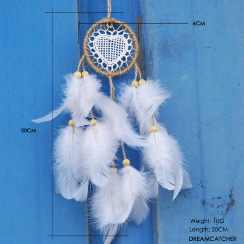 Dream Catcher Handmade Decor with Feathers Bead Home Office Wall Car Door Yard Garden Decoration For Home