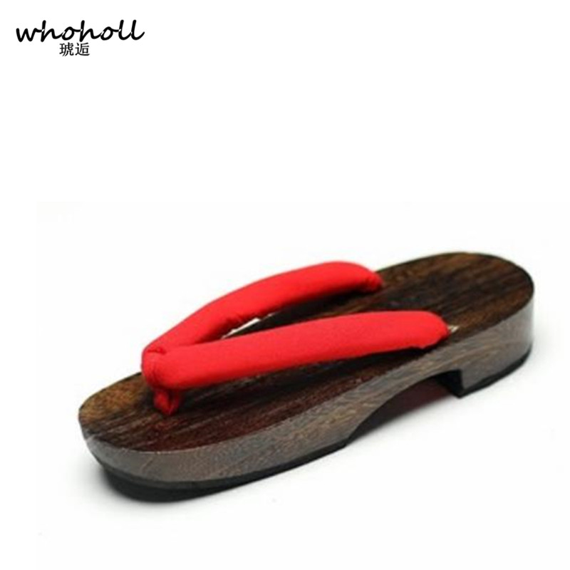 De Cosplay Kimono Wholl Zuecos Mujer Zapatos Japonés Geta Sandalias Madera 6bgyYf7v