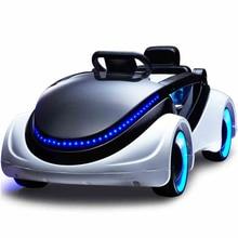 Детский Электрический автомобиль научная фантастика четырехколесный автомобиль с дистанционным управлением любимый подарок ребенку
