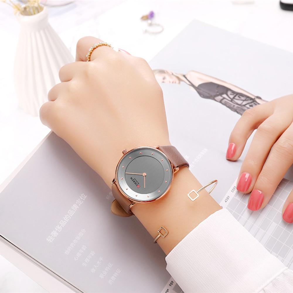 Charm Analog Quartz Women Watches CURREN New Fashion Ladies Dress Leather Wristwatch Female Clock Valentine Gift Bayan Kol Saati