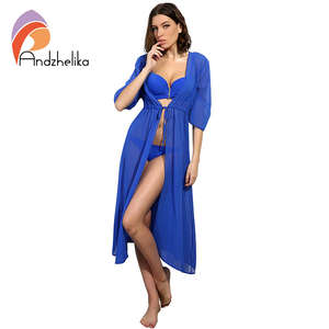 6598f445e6 Andzhelika Cover Up Swimsuit Bathing Suit Cover Up 2018 Women Sexy Beach  Cover