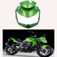 Motorcycle Front Head Upper Nose Fairing For Kawasaki Z750 Z 750 2007 2008 2009 2010 2011 2012 Injection Unpainted Black Green