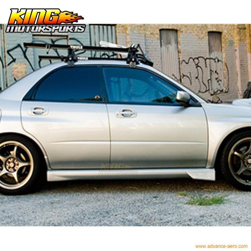 Für 02 07 Subaru Impreza Wrx Sti Hinten Rock Strake Gamaschen