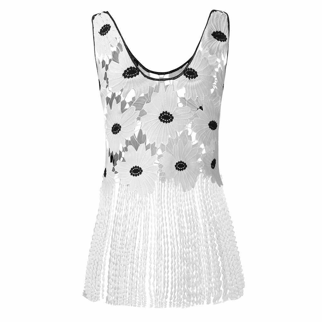 2019 פופולרי נשים של חולצה biue סקסי צווארון V שרוולים רקמת העמודים תחרה אפוד מצויץ blusas mujer блузка женская