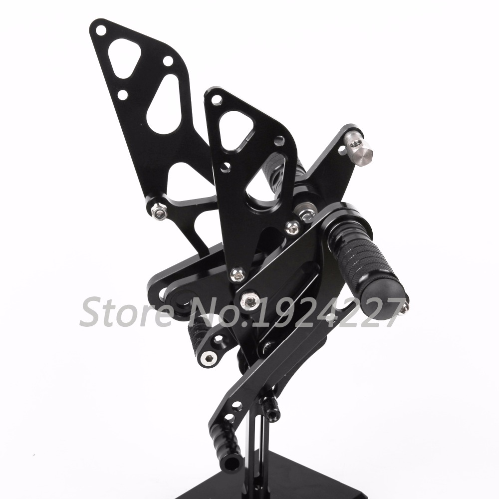 Motorcycle Footrest Adjustable Foot Pegs Rearsets For Honda NSF100 NSR50 All Years Hot High-quality Motorcycle Foot Pegs