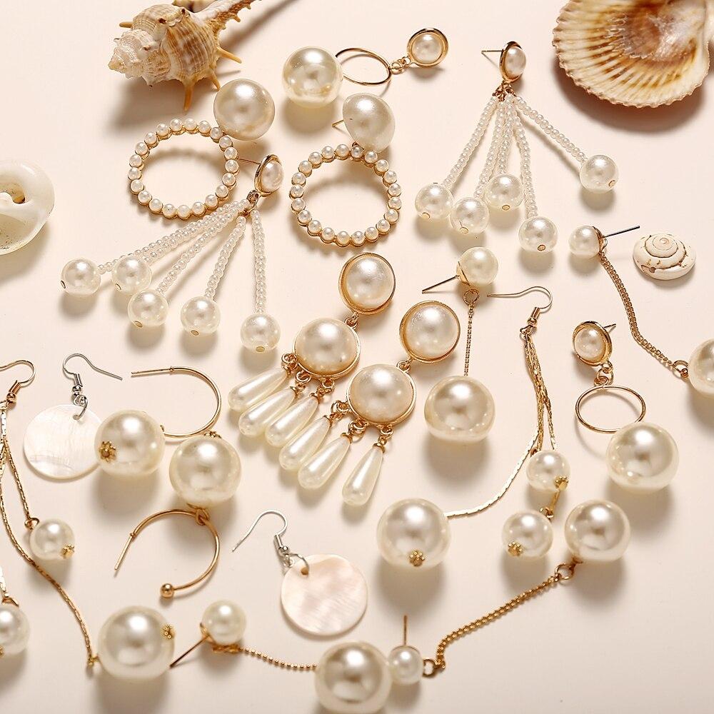 398f25415db30 Worldwide delivery korean gold acrylic earrings for women in NaBaRa ...