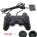 Черный Оригинальный проводной Двойной Вибрации Геймпад Консоли для Sony Playstation 2 PS2 Контроллер Dualshock 2 Игры аксессуары Джойстик
