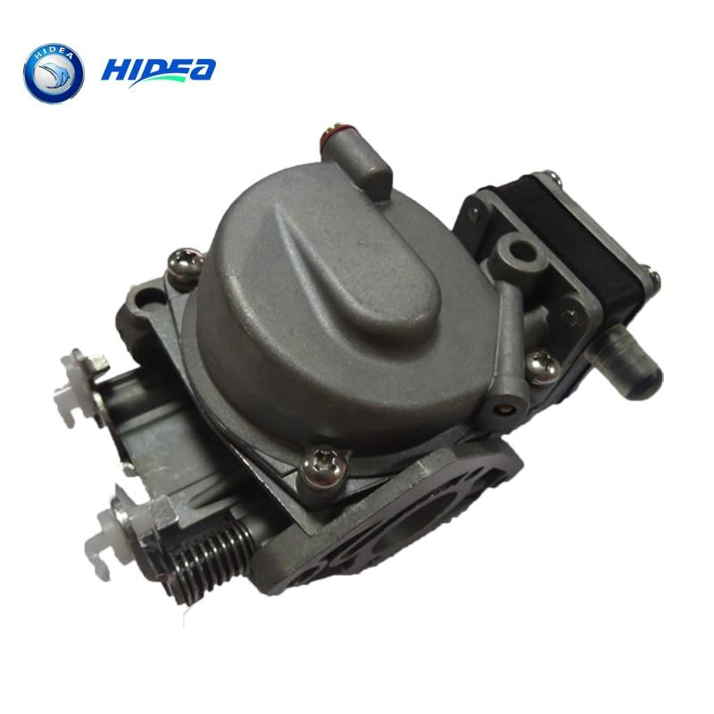 Карбюраторный 2-тактный Hidea 9.8 л. с. ТОХАТСУ для 3В2-03200-1 Двигатель лодочный