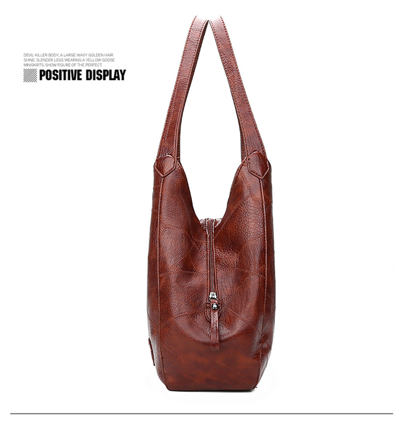 2019 Vintage Women Shoulder Bag Female Causal Totes Bags Large Capacity Luxury Designer High Quality Ladies Handbag Sac Femme 6