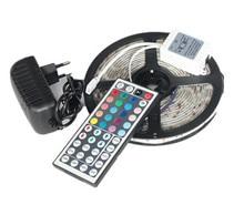 5050 LED Strip 5M 300Led SMD RGB 60LED/M Lamps DC12V White CW WW RGB Flexible light + IR Remoter + 12V 3A Power supply  Lighting