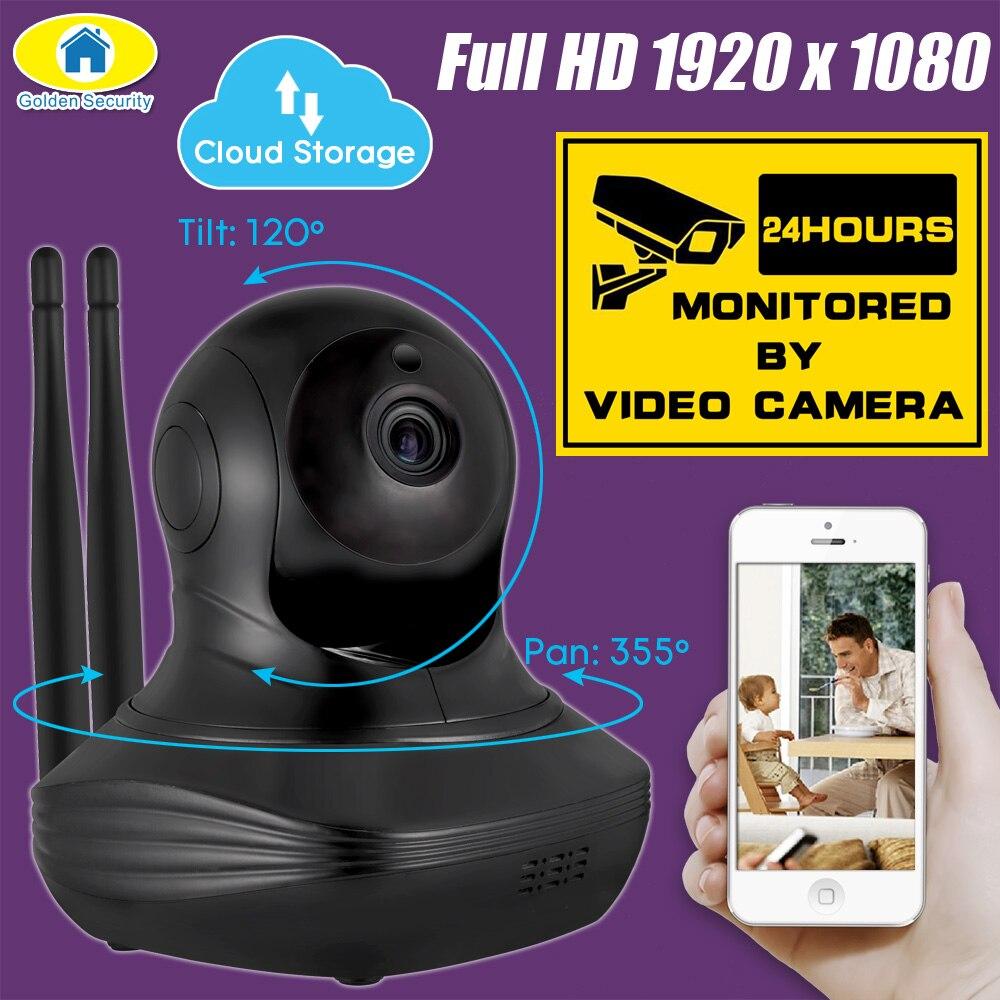 Golden Security 1080P Full HD Cloud Server Wireless WiFi Camera Security IP CCTV Camera WiFi Network Surveillance Camera Onvif golden media wizard hd в сургуте