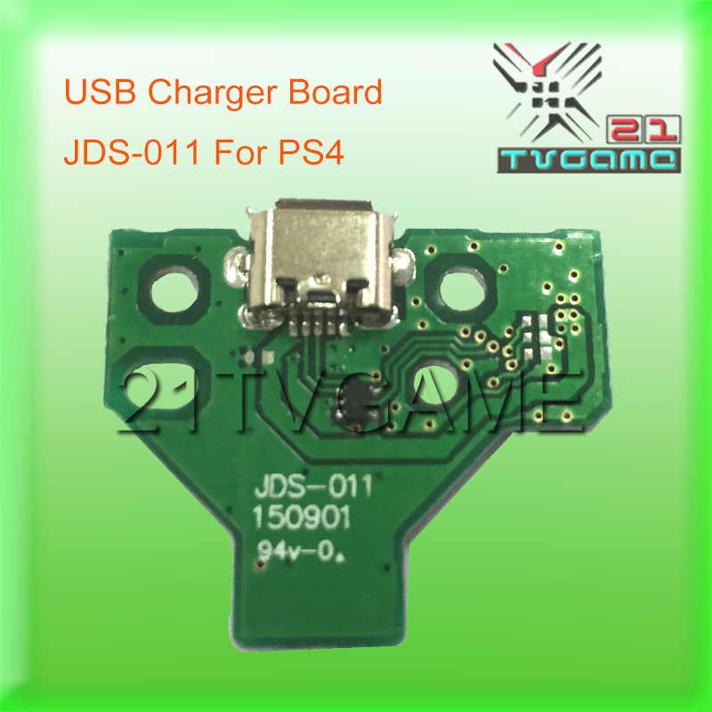Di alta Qualità USB di Ricarica Porta Socket Per PS4 Dulshock Joystick Con Bordo JDS-001 & JDS-011