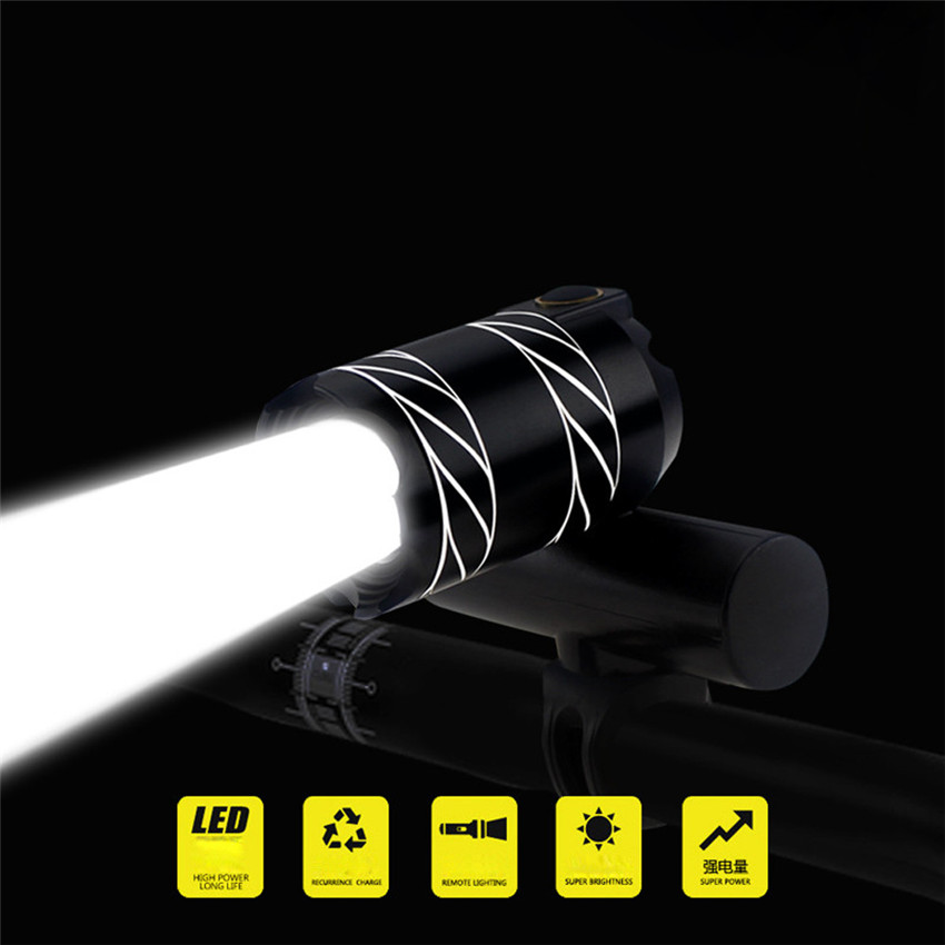 Bicycle Light USB Rechargeable XML T6 LED Bike Lights Front Cycling Headlight Light Head Lamp Torch 3 Modes ZOOM Flashlight M25 mini stainless steel led flashlight xml t6 torch light lanternas zoomable lampe torche for bike bicycle cycling light