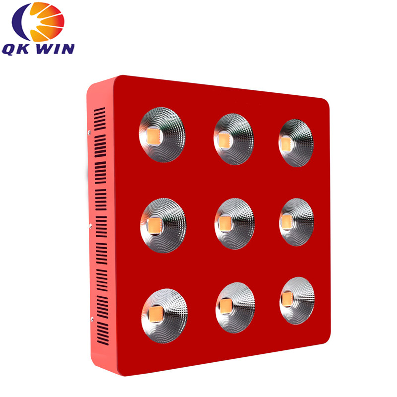 Qkwin G9 COB led grow light 2700W with 9pcs 300W led Full spectrum with reflector for high par value full spectrum grow lighting 2016 diy 200w led grow light 8 band full spectrum led grow led driver lens and reflector diy full spectrum cob led grow lamp