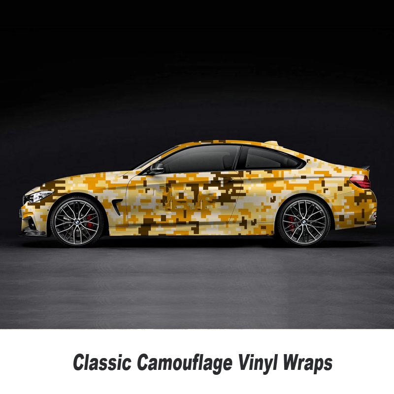 Camo Sticker Bomb Vinyl Wrap blue White Digital Camouflage Vinyl Bubble Free wrapping film 5m/10m/15m/20m/25m/30m - 5