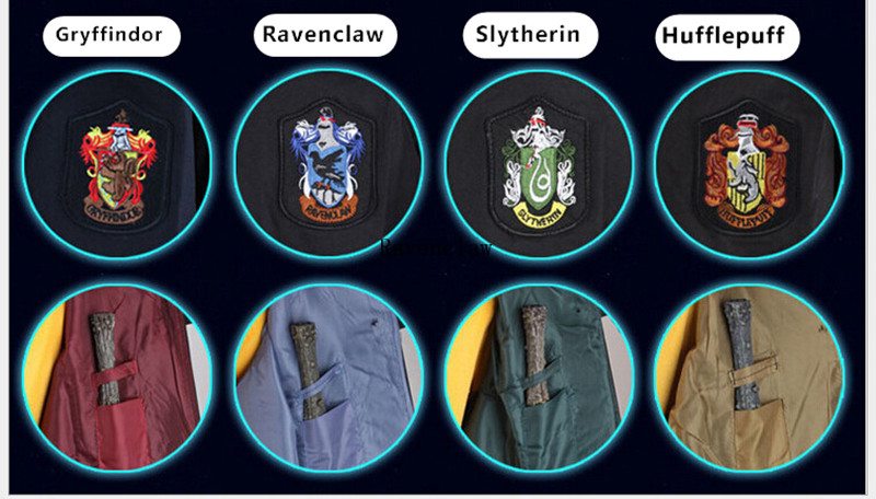 Adult Kids Cosplay Costumes Harry 39 s Robes Tie Gryffindor 39 s Ravenclaw 39 s Mantle Slytherin 39 s Hufflepuff Cloaks in Anime Costumes from Novelty amp Special Use