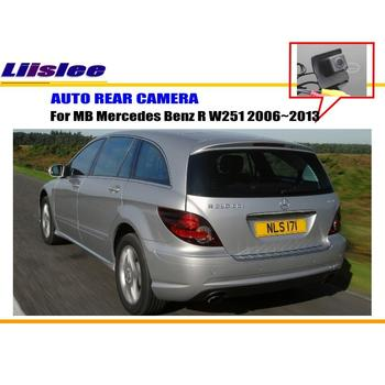 Car Backup Parking Camera For Mercedes Benz R W251 2006~2009 2010 2011 2012 2013 Reverse Rear View Camera  Reverse Hole Camera for mercedes benz ml350 2006 2011 x164 w251 gl350 2010 2012 gl450 2007 2012 front left master power window switch 2518300290