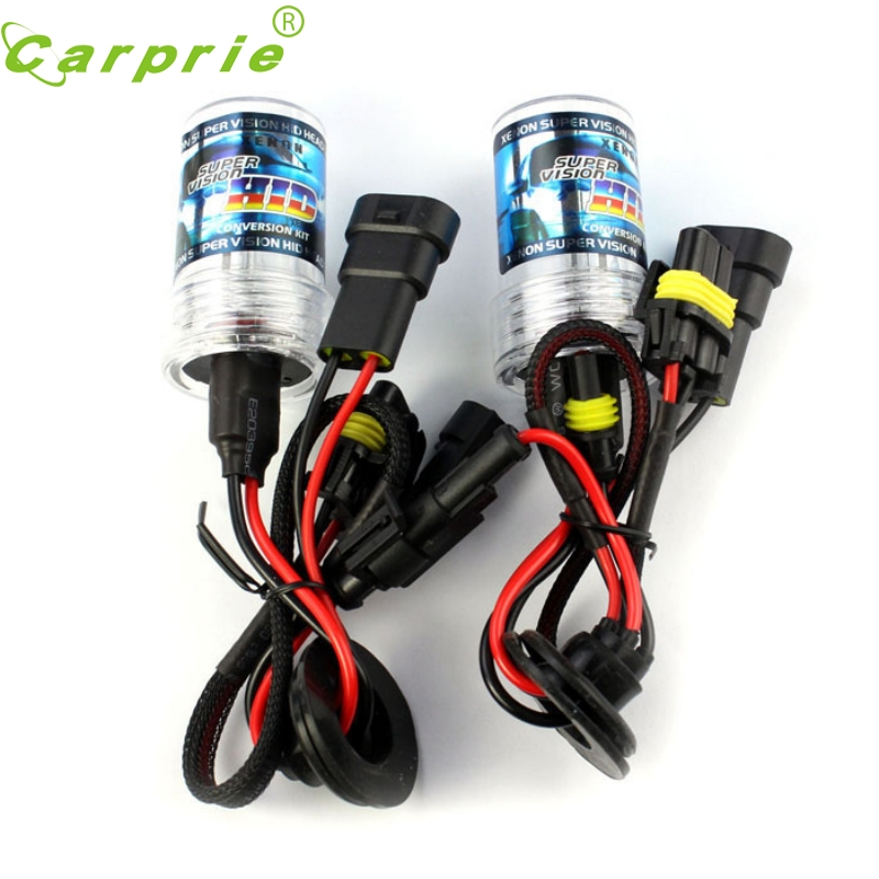Tiptop New 2 X HID Xenon Car Auto Headlight Light Lamp Bulb Bulbs 9005 4300K 12V 35W 3000LM_KXL05  new 1set hb3 9005 12v 65w 3000 3500k amber yellow car halogen xenon headlight light bulb lamp with retail box bengear dropship