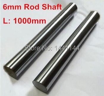 20pcs linear shaft 6mm diameter 1000mm long harden linear rod round shaft chrome plated