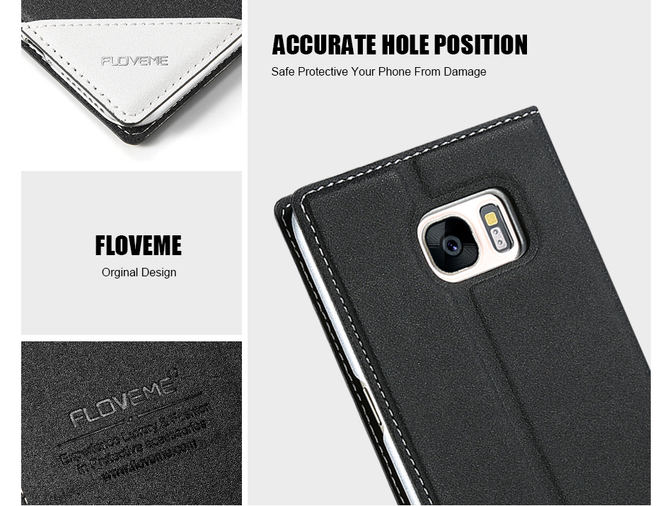 Magnetic Flip Leather Case For iPhone 5 6 7 Plus Card Slot Cover S8 BOB (7)