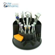 3T оптические оправы, набор ручных инструментов, набор инструментов для ремонта 8 наконечников пайлер с 6 Отвертка 4 запасных лопастей биты оптометрический аппарат для Pro