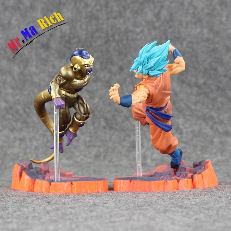 2style 15cm Ball Resurrection F Golden Frieza Freeza Freezer Vs Goku Action Figure Model Toy Pvc Collective Doll