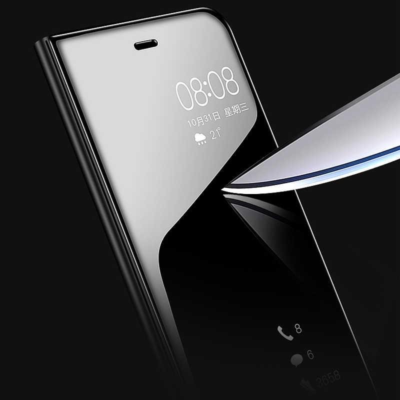 Зеркальный Чехол С Откидывающейся Крышкой для Samsung Galaxy S9 S7 S8 плюс Чехол A50 A70 A40 A90 A20 A30 M20 A10 M10 Note 9 8 A9 A8 A7 2018 A5 2017 чехлы