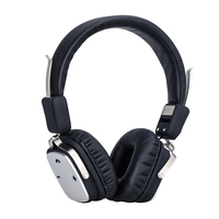 Resizable And Foldable PU Leather Bluetooth V4 1 Headphone With 3 5mm Line Cable Noise Isolation