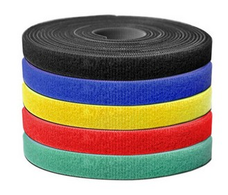 15m 500*1cm Nylon Reusable Back to back Velcro Cable Ties