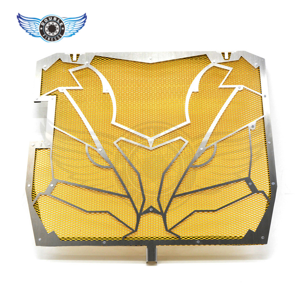 NEW Motorcycle Radiator Grille Guard Cover Protector yellow For KAWASAKI NINJA ZX-10R ZX 10 R ZX 10R ZX10R 2011 2012 2013 2014